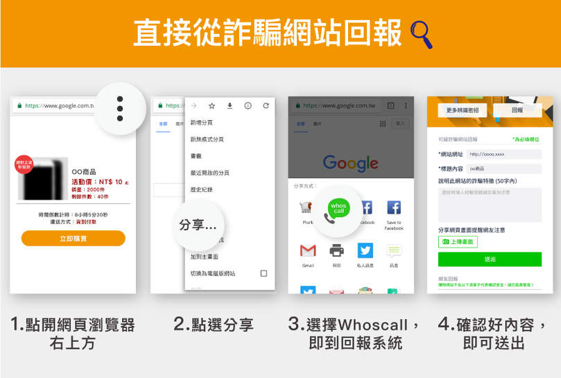 Whoscall 再升級,整合到SHAFE talk Pro的app內,讓你日常溝通更加安心